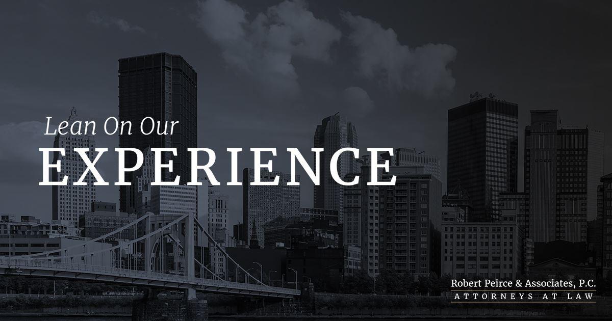 Pittsburgh Personal Injury Attorneys | Robert Peirce